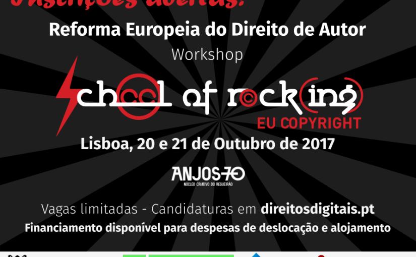 Inscrevam-se: The School of Rock(ing) EUCopyright