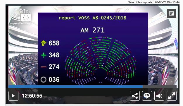Actualização: Como votaram os deputados 🇵🇹? #artigo13 #SaveYourInternet #Europeias2019 #EE2019 #destavezeuvoto#SomosEuropa